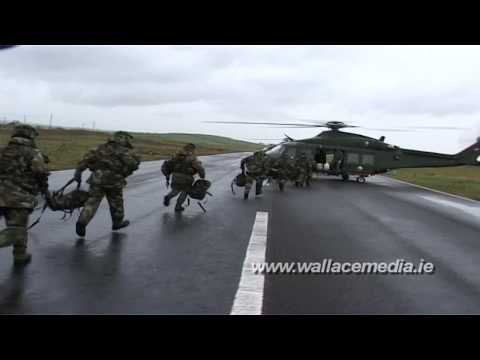 Irish Defence Forces Training Exercise in Donegal