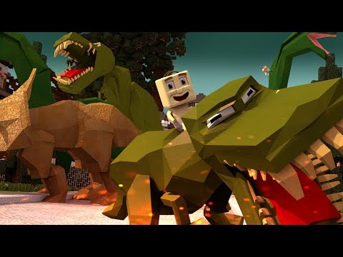 Minecraft | Who's Your Daddy? How to Bring Dinosaurs Back to LIFE! (Baby vs Dinosaurs)