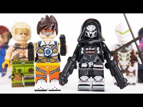 Китайские LEGO Overwatch Минифигурки!