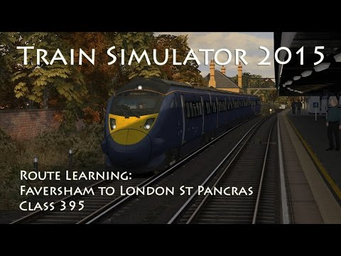 In this seventh video from the route learning tutorial series in Train Simulator, we drive a Class 395 on the London to Faversham route on the 1F17 07:58 Faversham to St Pancras International...