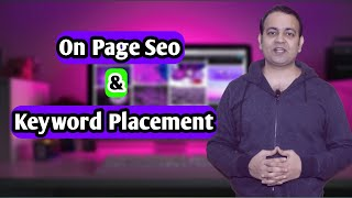On page seo techniques & keyword placement in article full tutorial in Hindi (2020) | Techno Vedant