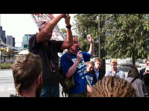 Christian Fundamentalist Protesters at the Global Atheist Convention 2012