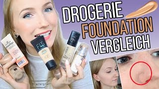 RIESEN DROGERIE FOUNDATION REVIEW - 7 Makeup's im Test - TheBeauty2go