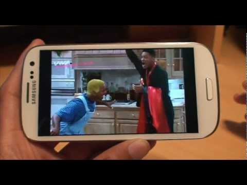 How to Watch TV on Samsung Galaxy S3. SIII. i9300