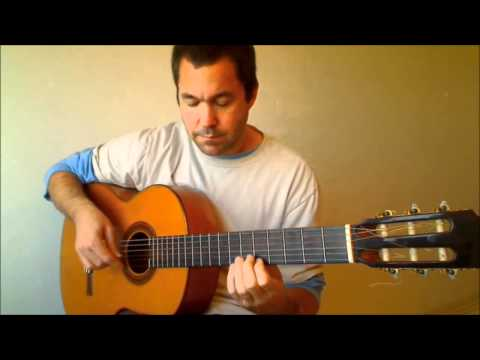 Samba Bossa Nova Guitar - Chara (Baden Powell) played by Terrence Rosnagle