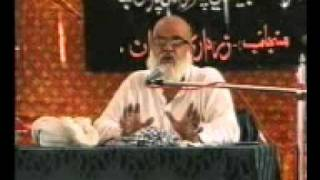 Sindhi Majlis Allama Sabit Ali Najafi at Syed Sher Ali Shah Daur on 8th Rajab June 2011 Part 4