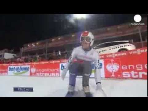 Ammann soars to victory in Four Hills opener   euronews, Sport
