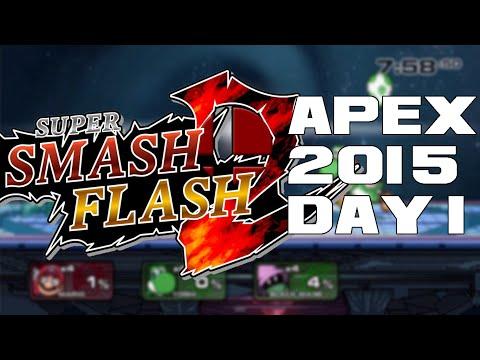 Super Smash Flash 2 Beta Apex 2015 Day 1