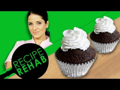 Laura Vitale's Dairy-Free Chocolate Cupcakes I Recipe Rehab I Everyday Health