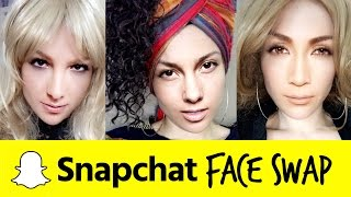 SNAPCHAT FACESWAP IMPRESSIONS: Word of Wisdom from JLo, Alicia Keys, Britney Spears