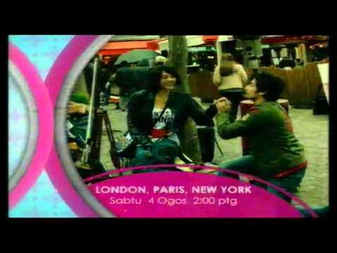 Promo London Paris New York (Panggung Sabtu) @ Tv3! (4/8/2012) -1