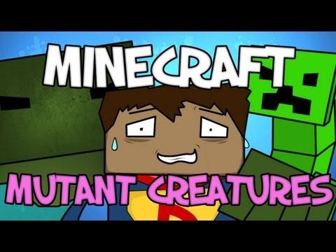 Minecraft Mod Showcase : Mutant Creatures