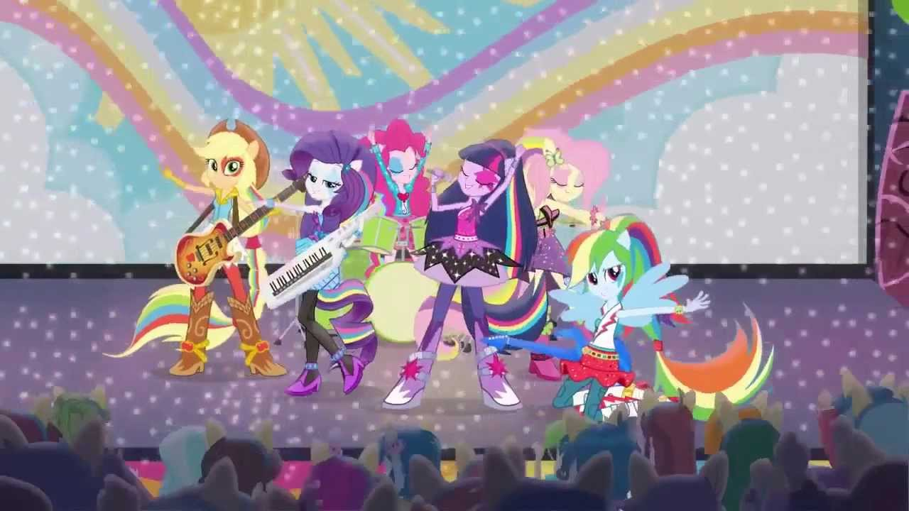 My little pony friendship is magic equestria girls