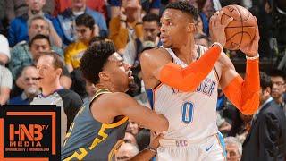 Golden State Warriors vs Oklahoma City Thunder Full Game Highlights   11.21.2018, NBA Season