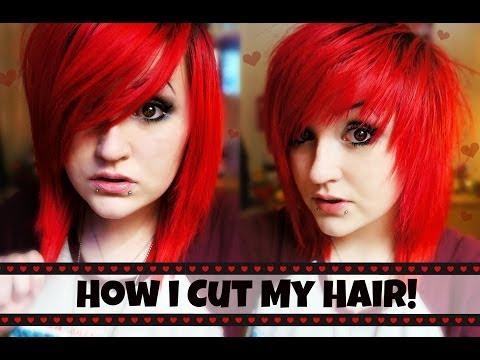 ♥  How I Cut My Hair  ♥ (Choppy Fringe + Layers)