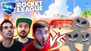 ESPAÑA VS ALIENS | ROCKET LEAGUE | MrLokazo86