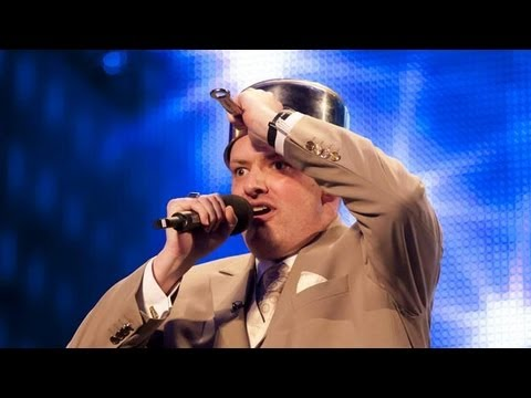 Dalek impersonator Martyn Crofts - Britain's Got Talent 2012 audition - International version