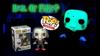 Funko Pop Billy the puppet saw gitd-Real or fake pop?!