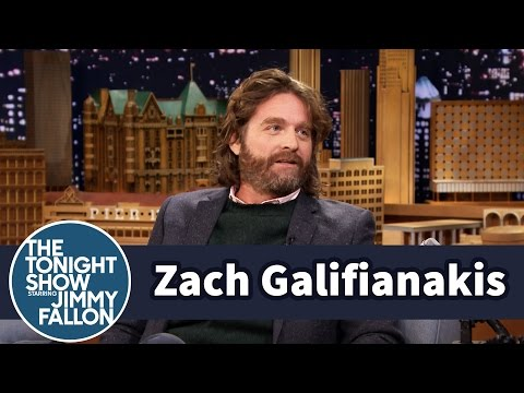 Zach Galifianakis' Sons' Testicles Fit in His Belly Button