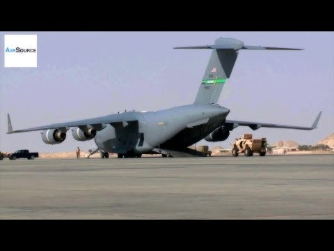 USAF Airlift Operations During Afghanistan Transitioning Mission