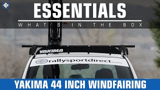 Yakima 44in WindFairing Install/Review
