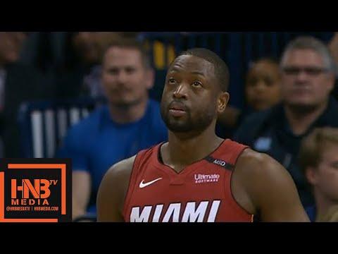 Oklahoma City Thunder vs Miami Heat 1st Half Highlights / March 23 / 2017-18 NBA Season