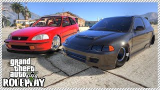 GTA 5 Roleplay - Hilarious Honda Civic Drag Boyz Disaster | RedlineRP #261