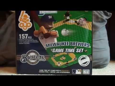 Milwaukee Brewers OYO Game Time Set Unboxing & Review