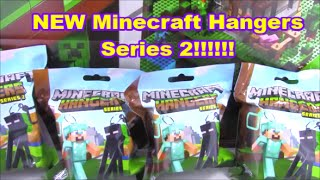 New Minecraft Hangers series 2 New Minecraft keychains Diamond Steve