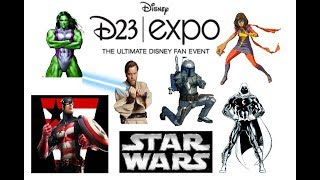 D23 Breakdown, BIG Spiderman News, HUGE Star Wars Reveals & TONS Of MCU Phase 4 Theories!