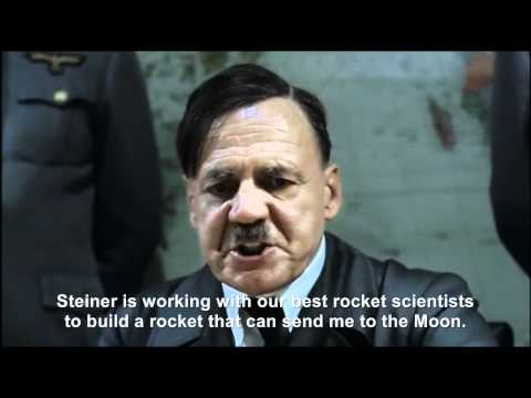 Hitler plans to go to the Moon