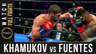 Khamukov vs Fuentes Full Fight: September 21, 2019 - PBC on FS1
