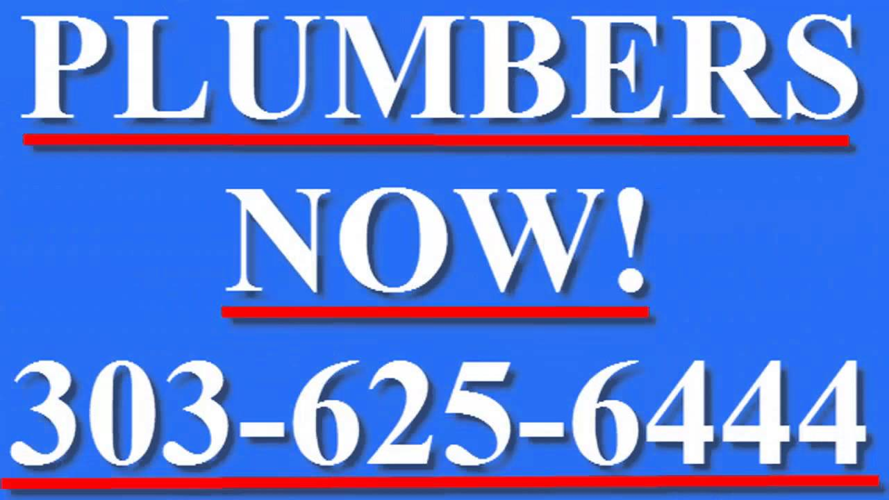 Denver Plumbers Call 303 625 6444 Denver Co Denver