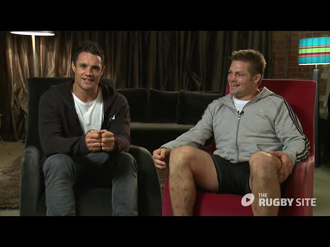 Dan Carter and Richie McCaw tribute to Jonny Wilkinson