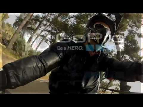 Yamaha FZX 750 Open Road GoPro H2.