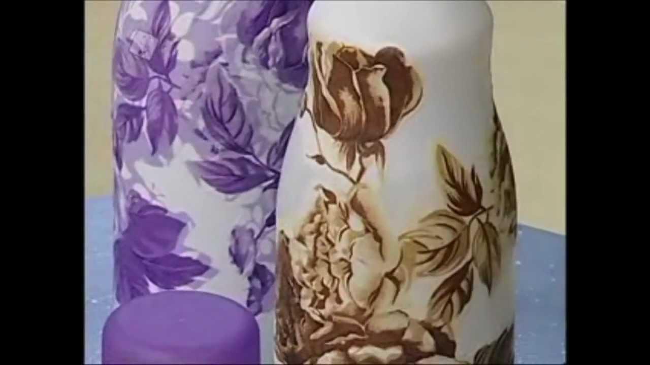 Artesanato Com Madeira ~ Colorgin no Ateli u00ea na TV Pintura e decoraç u00e3o em vidro YouTube