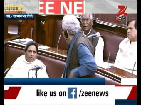 Smriti Irani and Mayawati clash over Rohith Vemula's suicide case in Rayja Sabha