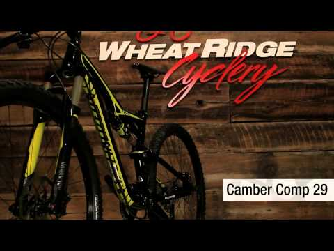 WRC 2013 Specialized Camber Comp 29 Review
