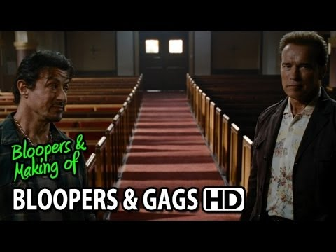 The Expendables (2010) Bloopers Outtakes Gag Reel video