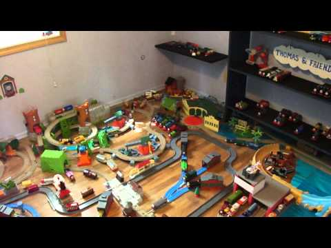 Thomas & Friends Trackmaster Awesome Layout Our Best Yet!!!