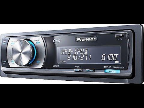 Pioneer Deh P5000ub Auto Radio Cd Mp3 Usb Display Oel (tipo golfinho) 6 Rca