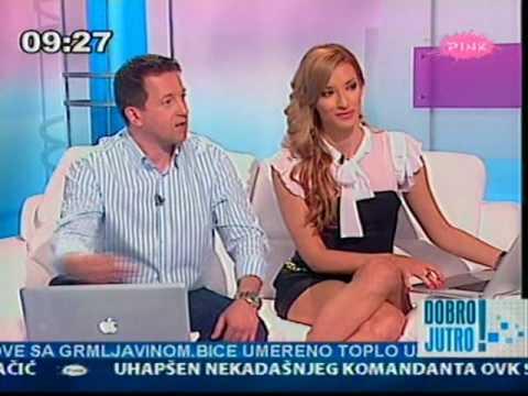 Jovana Jankovic sexy TV Presenter