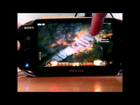 PSVita Remote desktop gameplay [Borderlands - Diablo III - Batman Arkham city]
