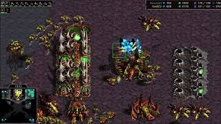 Fastest Map Ever 1v1 on SCW 08 Space - StarCraft  - Brood War REMASTERED