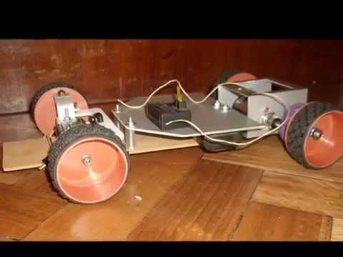auto rc casero 2 homemade rc car 2.wmv