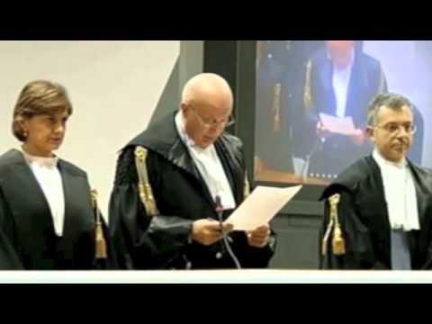 Video della sentenza a carico di MArcello Dell'Utri