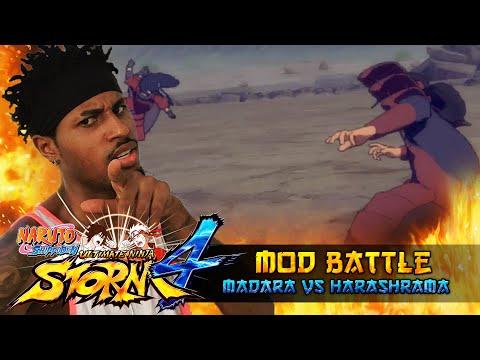 Madara Uchiha VS Hashirama Senju!!! Naruto Shippuden Ultimate Ninja Storm 4 Mod Battle!!! thumbnail