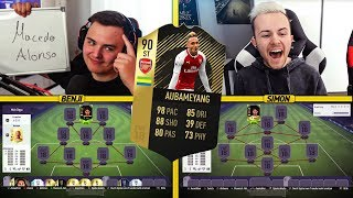 FIFA 18: IF 90er AUBAMEYANG SQUAD BUILDER BATTLE vs den Gamerbruder