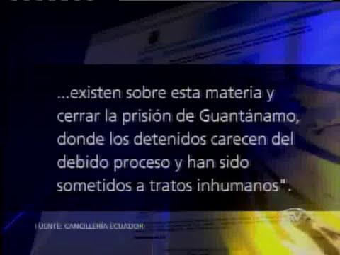 Ecuador rechaza declaraciones de Estados Unidos sobre amenazas a la libertad de expresión
