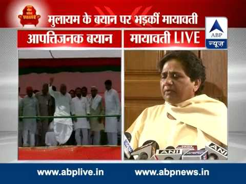 EC should ban Mulayam's public meetings: Mayawati